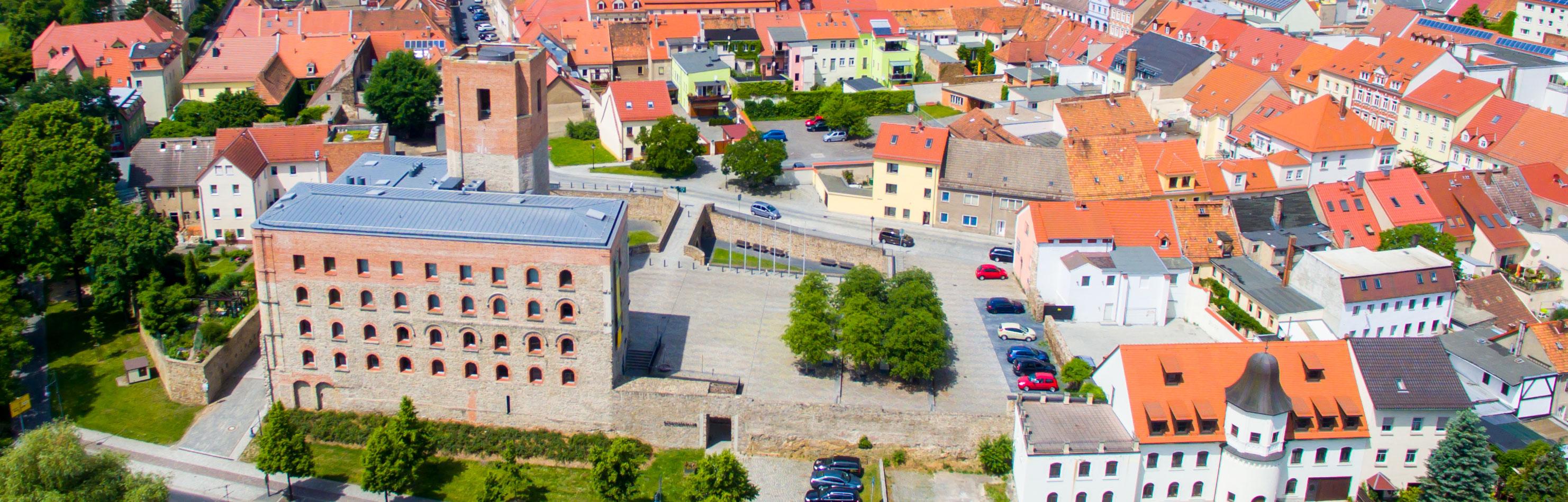 Kulturschloß Grossenhain Stadtansicht
