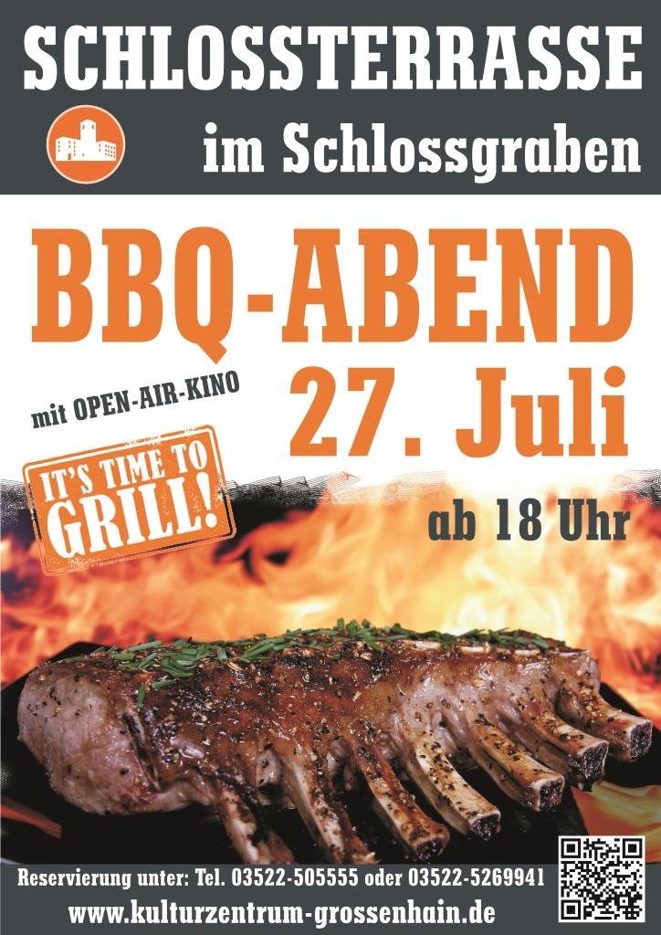 BBQ-Abend mit Open-Air-Kino