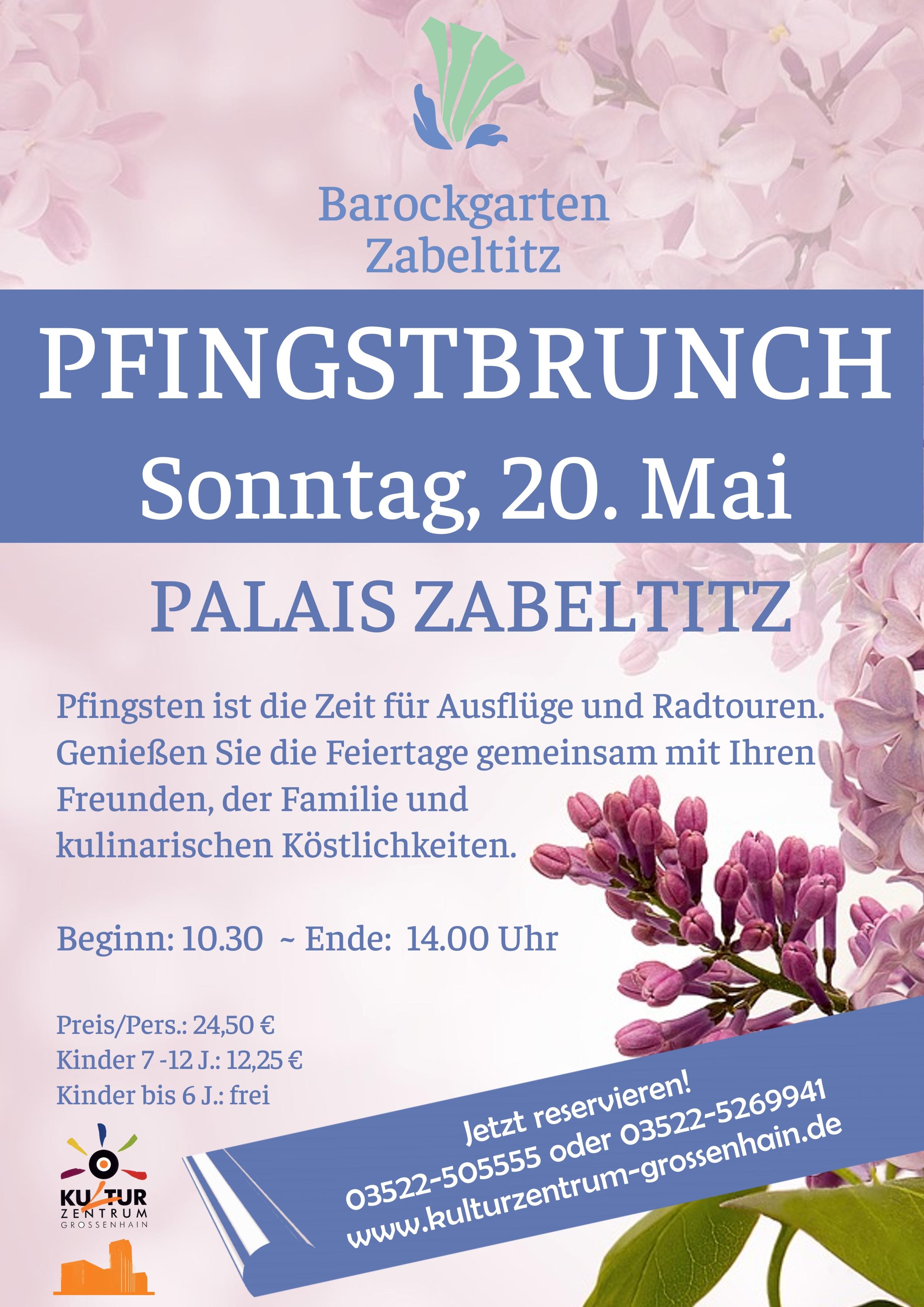 Pfingstbrunch im Palais Zabeltitz