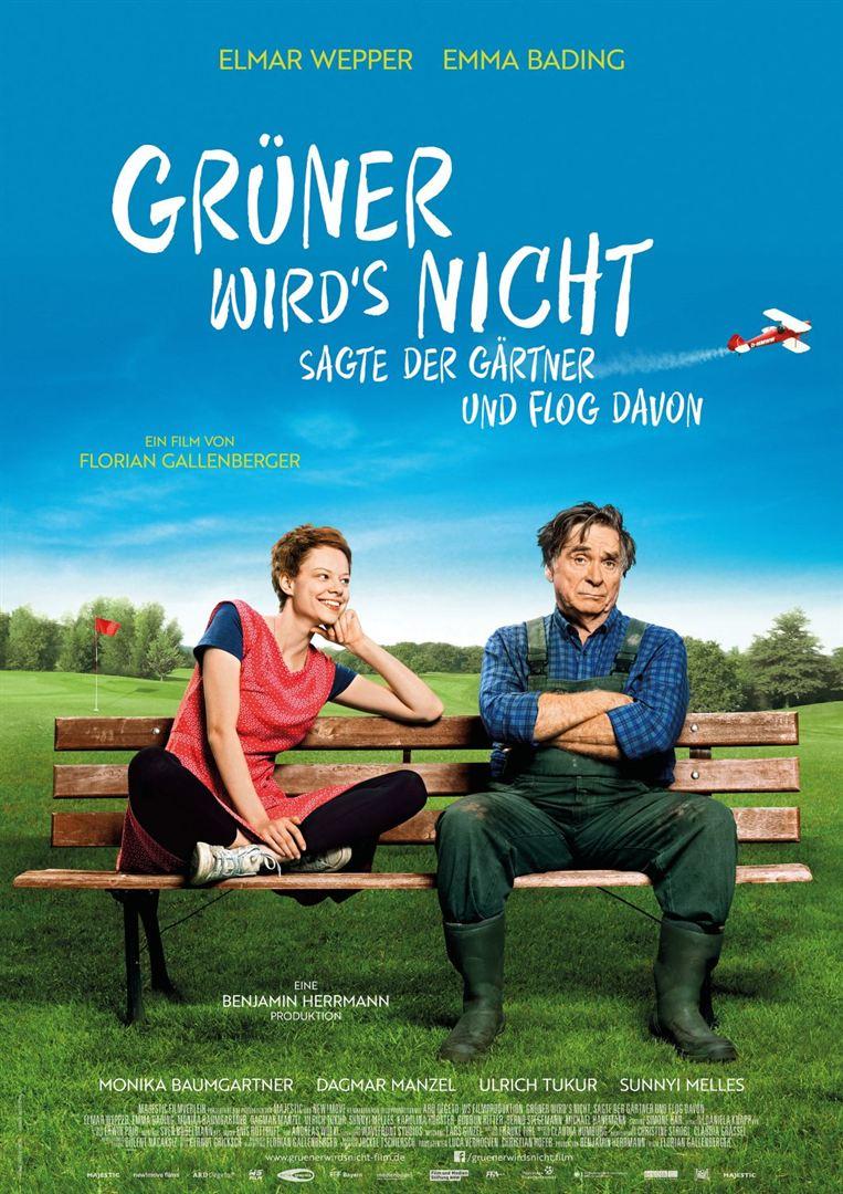 Filmpremiere 'Grüner wird's nicht, sagte der Gärtner und flog davon'