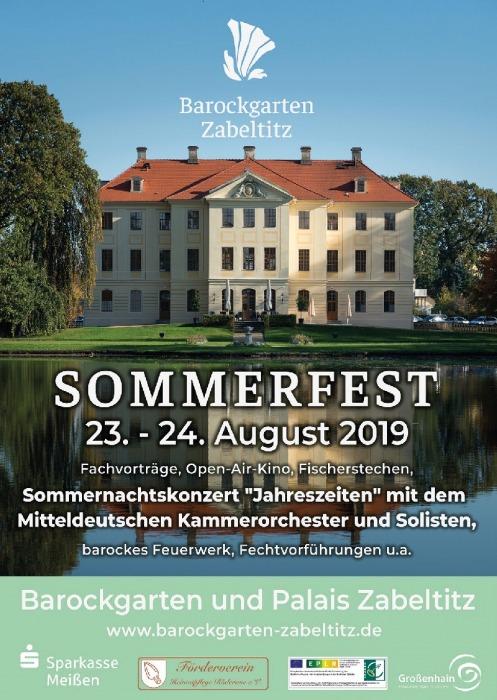 Sommerfest im Barockgarten Zabeltitz