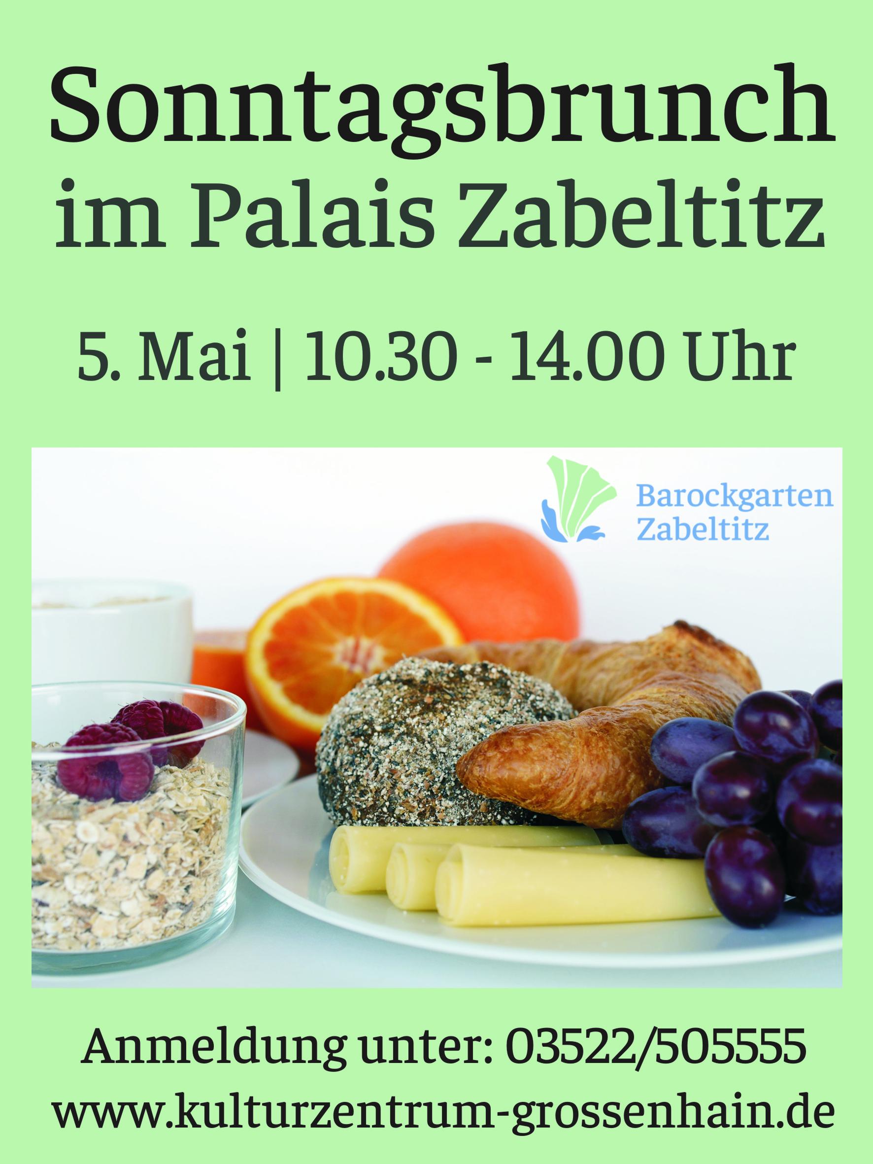 Sonntagsbrunch im Palais Zabeltitz