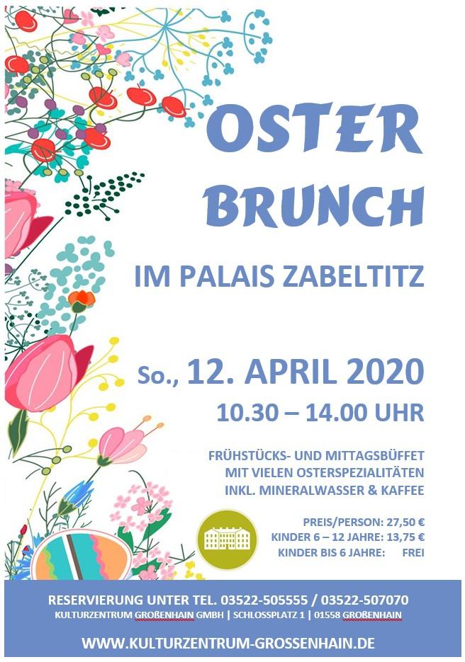 Osterbrunch im Palais Zabeltitz