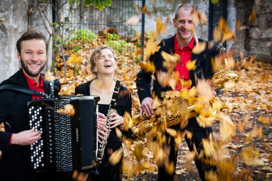 Trio CARACOL - Tango, Klezmer und lateinamerikanische Musik